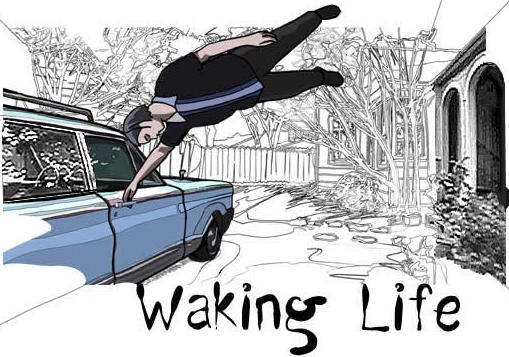 Waking life movie poster