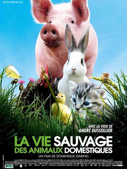 Постер Дикая бытие домашних животных / La vie sauvage des animaux domestiques